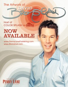 David Bromstad with PennyLane Publishing