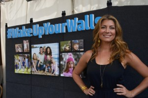 Genevieve Gorder with HP
