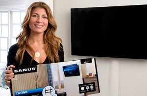 Genevieve Gorder with Sanus
